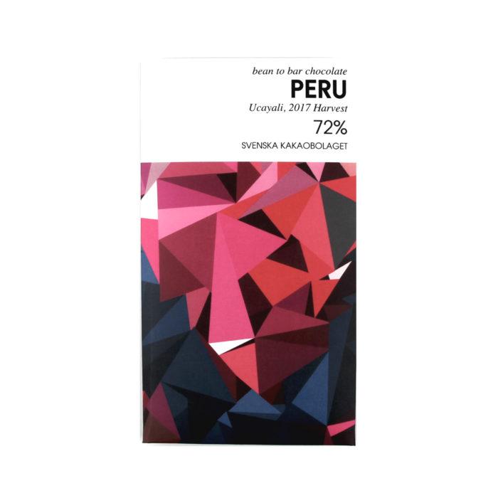 Peru 72% - white