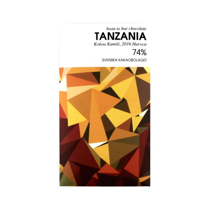 Tanzania 74% - white
