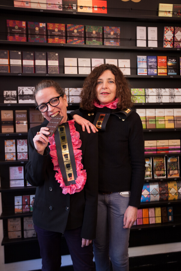 Cat et Nat Kosak dealers chocolats grands crus bean-to-bar