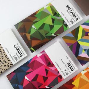 Kakaobolaget Chocolatier gamme de tablettes partiel